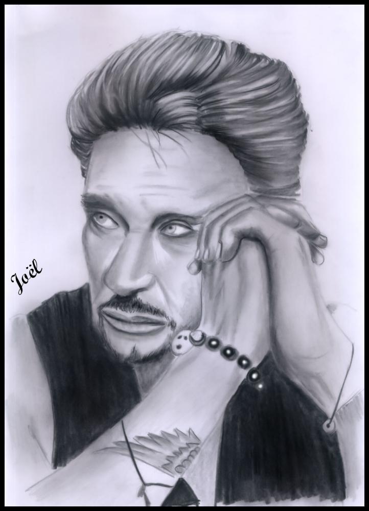 Johnny Hallyday by klk68